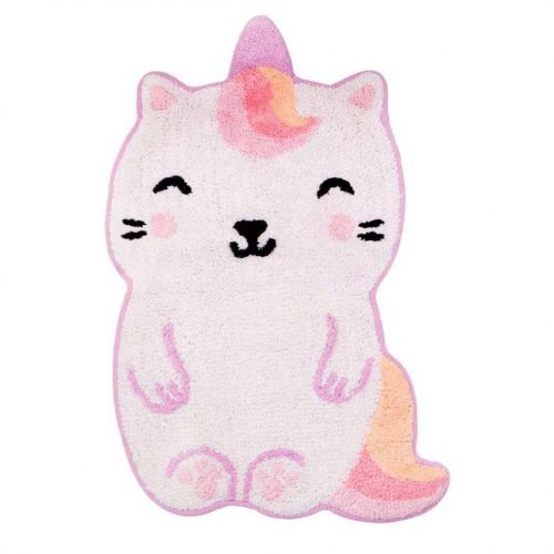tapis caticorn chat licorne