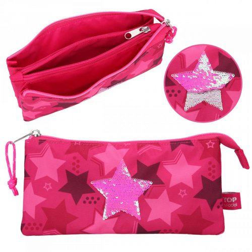 trousse top model rose fuchsia
