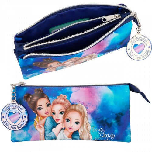 trousse top model bleu