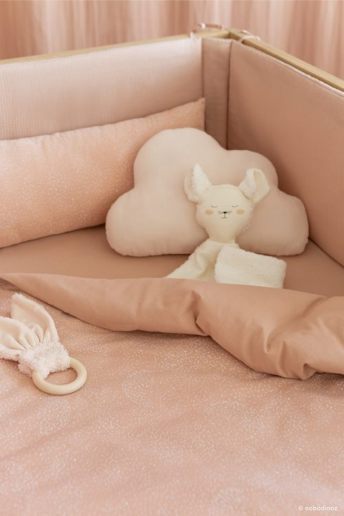 Doudou en coton Bio MOUSE NATURAL