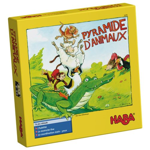Pyramide d'animaux HABA