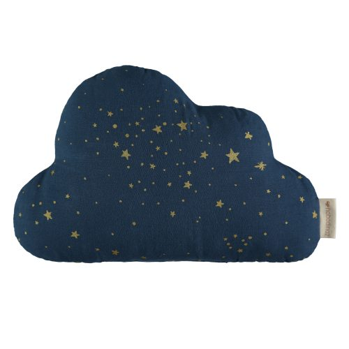 Coussin Cloud GOLD STELLA MIDNIGHT BLUE
