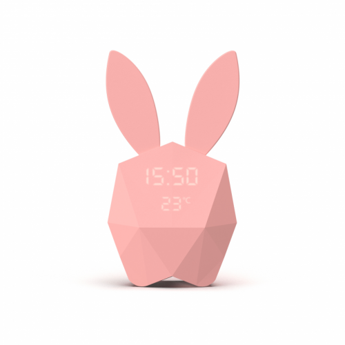 Cutie Clock Connect LAPIN ROSE