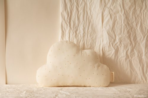 Coussin Cloud HONEY SWEET DOTS NATURAL NOBODINOZ